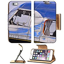 buy Msd Apple Iphone 6 Plus Iphone 6S Plus Flip Pu Leather Wallet Case Vintage Airplane Image 21584562