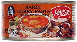 Yellow Curry (Kang Karee) Paste Thai Maesri 4 Oz.