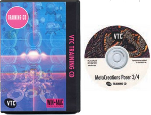 MetaCreations Poser 3 & 4 Training CD