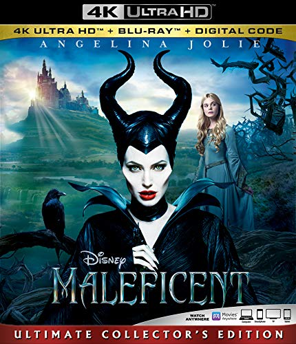4K Blu-ray : Maleficent (2 Discos)