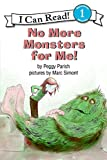 img - for No More Monsters for Me! (I Can Read Level 1) book / textbook / text book