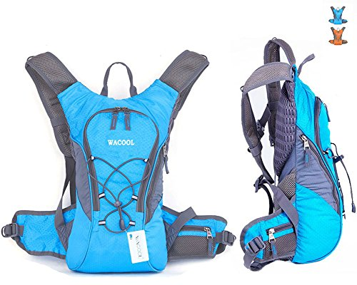 WACOOL Waterproof Hydration Bladder Pack, Cycling Backpack, Lightweight