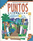 img - for Puntos De Partida: Instructor's Edition by Marty Knorre (1997-01-03) book / textbook / text book