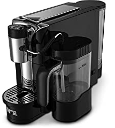 Gourmia GCM5500 - 1 Touch Automatic Espresso Cappuccino & Latte Maker Coffee Machine - Brew, Froth Milk, and Mix Into Cup with the Push of One Button - Nespresso Compatible…