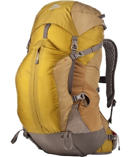 B002UXLYVY Gregory Mountain Products Z 55 Backpack, Tin Roof Gray, Medium