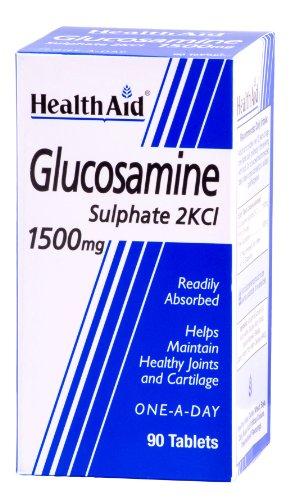 HealthAid Glucosamine Sulphate 2KCl 1500mg - 90 Tablets
