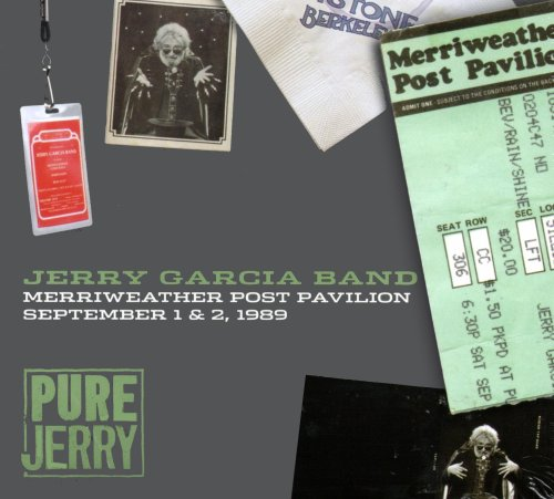 Pure Jerry: Merriweather Post Pavilion - September 1 & 2, 1989 (4 CD Set) by Jerry Garcia