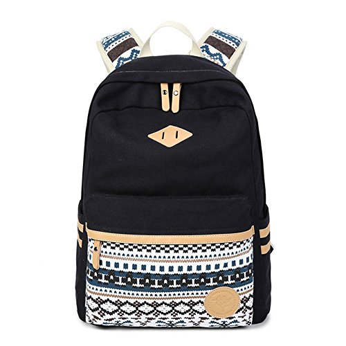 Abshoo-Canvas-Lightweight-Student-Backpacks-for-Girls-School-Bags