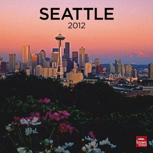 """Seattle 2012 Wall Calendar 12"""" X 12"""""""