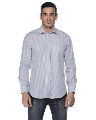 Camicissima Camicia Slim Fit Righe [Bianco/Blu]