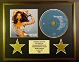 BEYONCE/CD DISPLAY/ LIMITED EDITION/COA/DANGEROUSLY IN LOVE