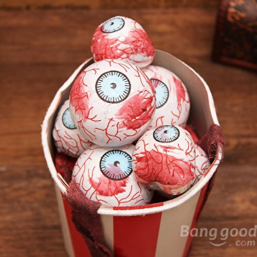 free shipping halloween trick eyeball cut horrible bubble box eyeball4s halloween decorations