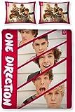 Character World Parure de lit double One Direction 200 x 200 cm