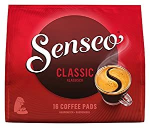 Get Senseo Classic Roast, New Design, Pack of 10, 10 x 16 Coffee Pods - Douwe Egberts