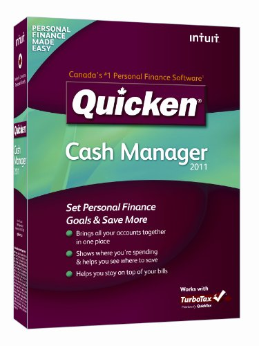 Quicken Cash Manager 2011 [Old Version]
