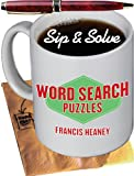 img - for Sip & Solve : Word Search Puzzles (Sip & Solve  Series) book / textbook / text book