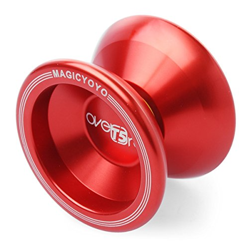 "ELENKERâ""¢ New Fashion Magic YoYo T5 Overlord Aluminum Professional Yo-Yo Red - 1"
