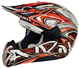 Airoh MRT32S Cross Tag Decal Motocross Helmets, Multi-Colored, S
