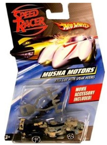 Hot Wheels Speed Racer Musha Motors 1:64