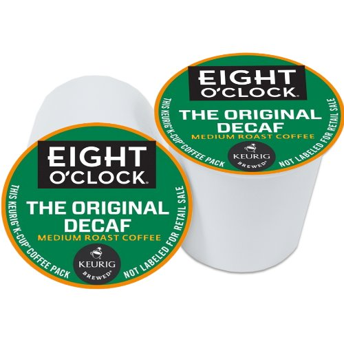 Eight O'Clock Original Decaf Coffee Keurig K-Cups, 72 Count
