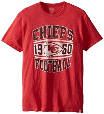 NFL Kansas City Chiefs Retro Logo Scrum Tee by