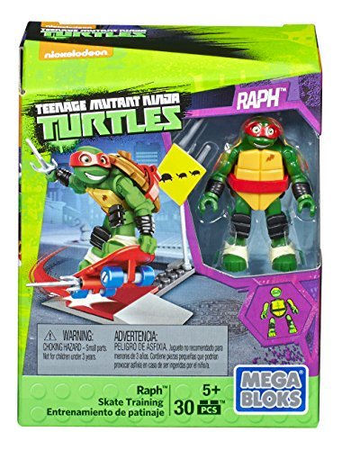 Mega Bloks Teenage Mutant Ninja Turtles Raph Skate Training Pack (Tmnt Ninjas In Training compare prices)