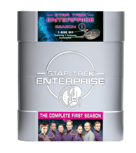 Cover art for  Star Trek Enterprise - The Complete First Season