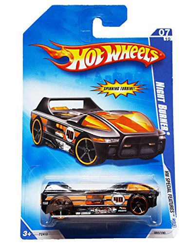 Hot Wheels 2009-07 Night Burner Hw Special Features 1:64 Scale - 1