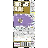 Streetwise Seattle Map - Laminated City Center Street Map of Seattle, Washington - Folding pocket size travel map with monorail & streetcar lines ~ Streetwise Maps