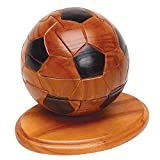 Bits and Pieces - 3D - Wooden Soccer Ball Puzzle - Dimension in Wood - 3D Jigsaw Puzzle - Sports Puzzle by Bits and Pieces