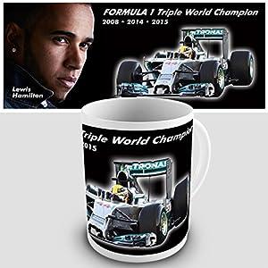 Lewis Hamilton Formula 1 Gift Mug