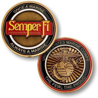 U.S. Marine Corps Sempre Fi Coin