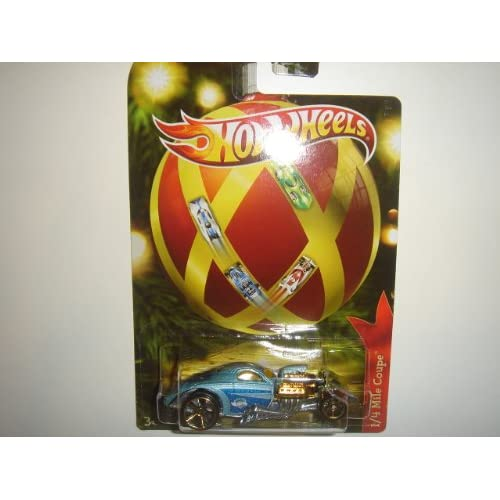 2011 Hot Wheels Holiday Hot Rods 1/4 Mile Coupe Light Blue