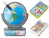 【Amazon.co.jp限定】しゃべる地球儀 パーフェクトグローブホライズン トランプ2種同梱セット