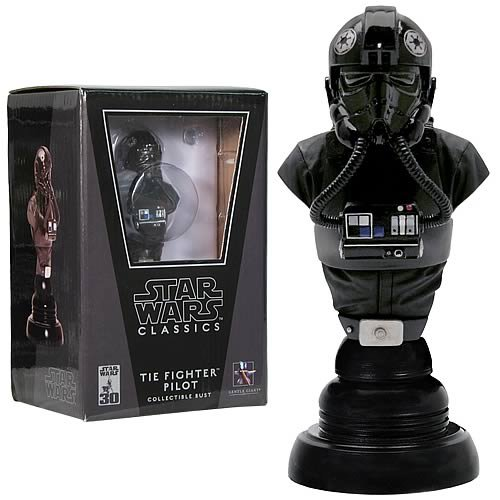 Star Wars Imperial TIE Fighter Pilot Classics Bust, Not Mint - Buy Star Wars Imperial TIE Fighter Pilot Classics Bust, Not Mint - Purchase Star Wars Imperial TIE Fighter Pilot Classics Bust, Not Mint (Gentle Giant, Toys & Games,Categories,Action Figures,Statues Maquettes & Busts)
