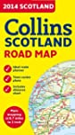 2014 Collins Map of Scotland (Road Map)