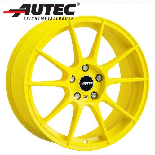Alufelge Autec WIZARD Fiat Punto Abarth 199 8.0 x 18 Atomic yellow