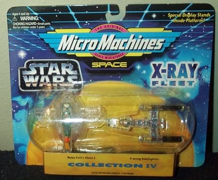 Star Wars 4 Micro Machines X-Ray Fleet Collection IV - 1
