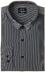 Basics Men's Formal Shirt (8907054398027_14BFS31135_Black_39)