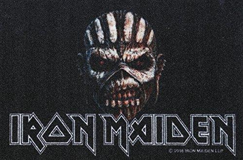Iron Maiden Zerbino Book of Souls Zerbino con scritta in ZERBINO TAPPETO ZERBINO Doormat
