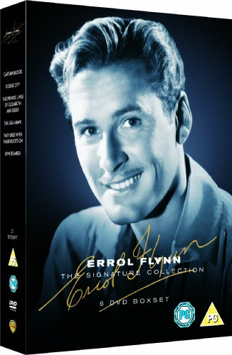 Errol Flynn Collection (6 Disc) (Captin Blood, Private Lives of Elizabeth and Essex, The Sea Hawk, They Died With Their Boots On, Dodge City, Dive Bomber) [Edizione: Regno Unito]