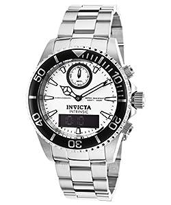 Invicta Men's 12470 Pro Diver Quartz Multifunction White Dial Watch