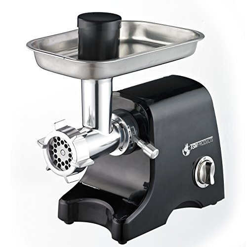 Electric Meat Grinders With Metal Gears ~ Tsm products  electric meat grinder black