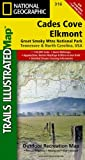 img - for Cades Cove, Elkmont: Great Smoky Mountains National Park (National Geographic Trails Illustrated Map) book / textbook / text book