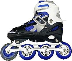 IRIS Inline Skates IR101 Size 1 - 3 UK adjustable (BLUE)