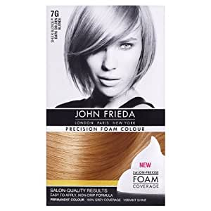 John Frieda Precision Foam Colour Sheer Blonde 7G Dark Golden Blonde