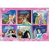 Coffret Disney Princesses : 12 livres, histoires + coloriages