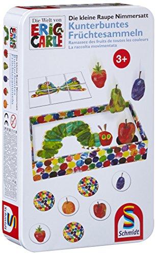schmidt-spiele-51237-die-kleine-raupe-nimmersatt-kunterbuntes-fruchtesammeln