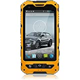 4 inch IP67 Waterproof 3G Rugged android 4.2 smartphone 1.2GHz dual core Dual SIM Dustproof Shockproof Capacitive screen GPS 5MP A8(yellow, black, green, blue)