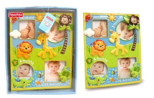 Fisher-Price Precious Planet Milestone Resin Frame (Discontinued by Manufacturer)